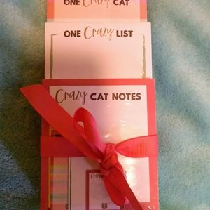 3 piece notepad set